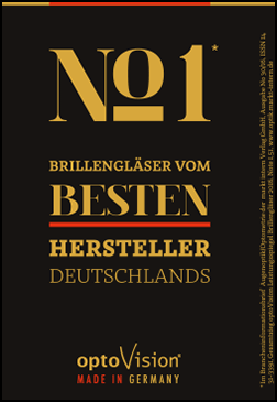 Brillengläser vom besten Hersteller Deutschlands